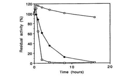 Bglu110 Beta-Glucanase thermostability